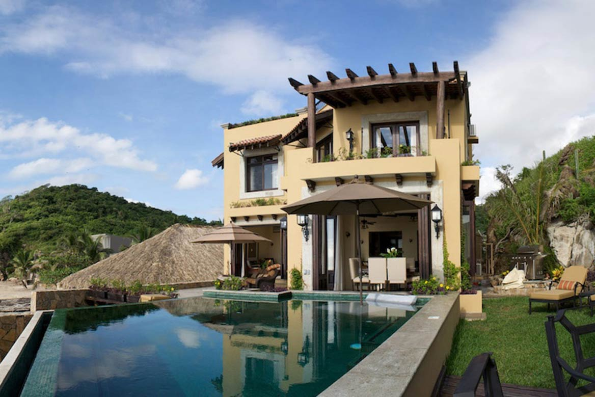 Villa Escondida For Sale In Huatulco Real Estate And Property Listings Palm Properties Mexico